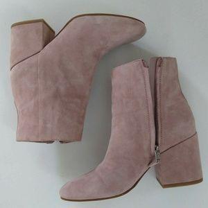 b8090af27663 Sam Edelman Shoes - Sam Edelman Pink Mauve Taye Bootie